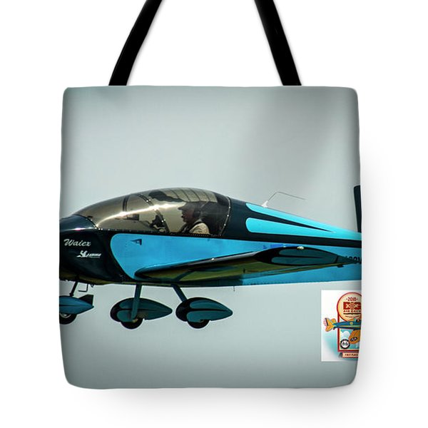 Big Muddy Air Race Number 100 Tote Bag