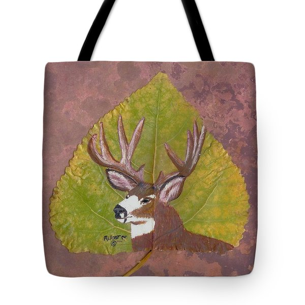 Big Mule Deer Buck Tote Bag