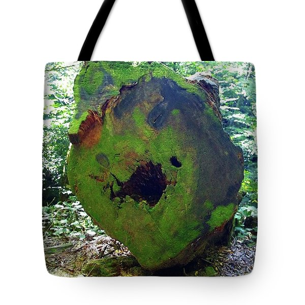 Big Old Tree That Was Cut Down Tote Bag