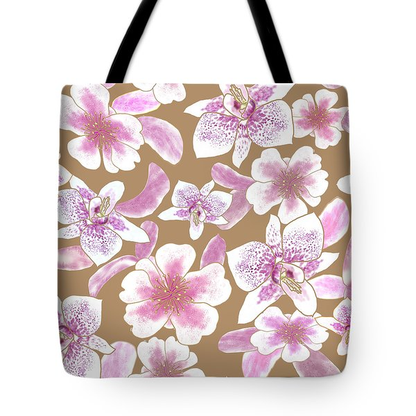 Big Orchids 3 Iced Coffee Tote Bag