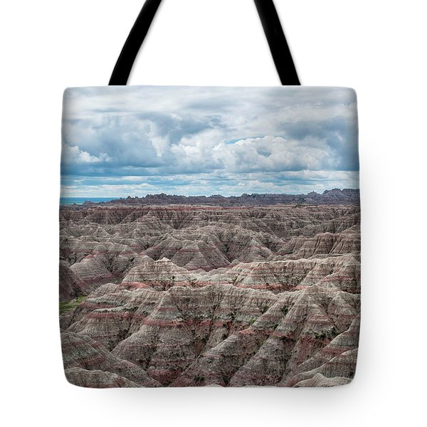 Tote Bag featuring the photograph Big Overlook Badlands National Park  by Kyle Hanson