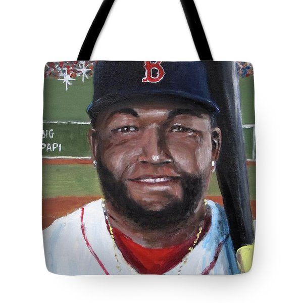 Big Papi Tote Bag by Jack Skinner
