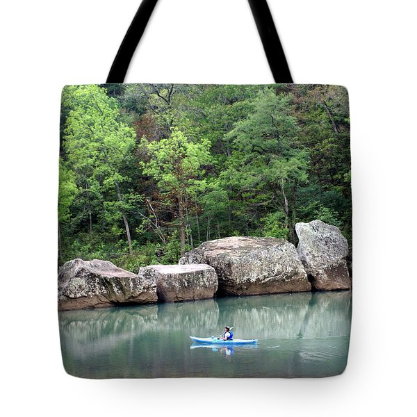 Big Piney Creek 1 Tote Bag by Marty Koch
