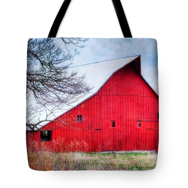 Big Red Barn Tote Bag