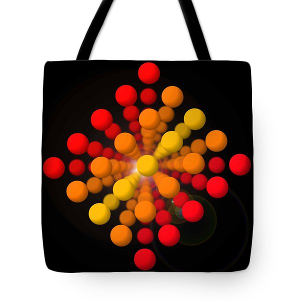 Big Red Figure Tote Bag