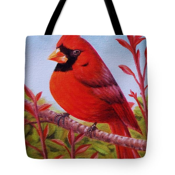 Big Red Tote Bag by Gene Gregory