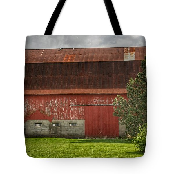 0005 - Big Red Iv Tote Bag