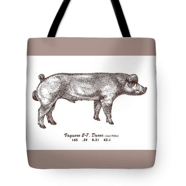 Tote Bag featuring the photograph Big Red by Larry Campbell