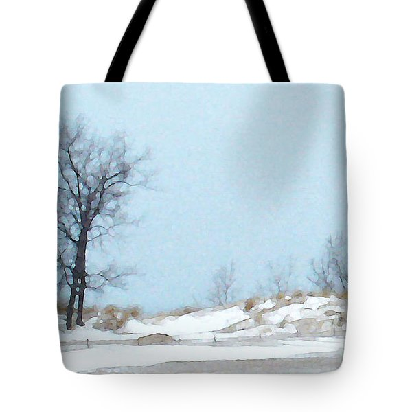 Tote Bag featuring the photograph Big Red - View 2 by Linda Shafer