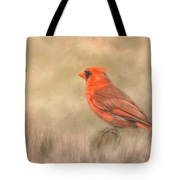 Big Red Tote Bag by Steven Richardson