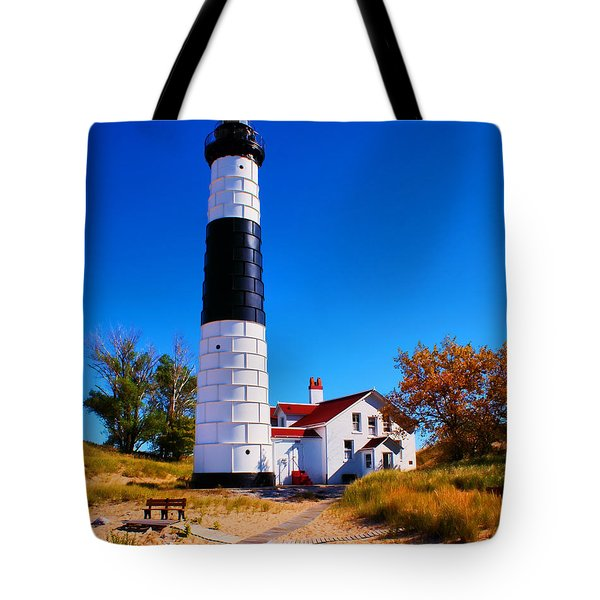 Big sable point lighthouse photograph by nick zelinsky - Prix big bag sable ...