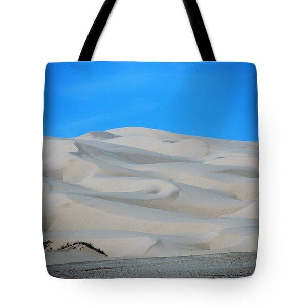 Big Sand Dunes In Ca Tote Bag by Susanne Van Hulst