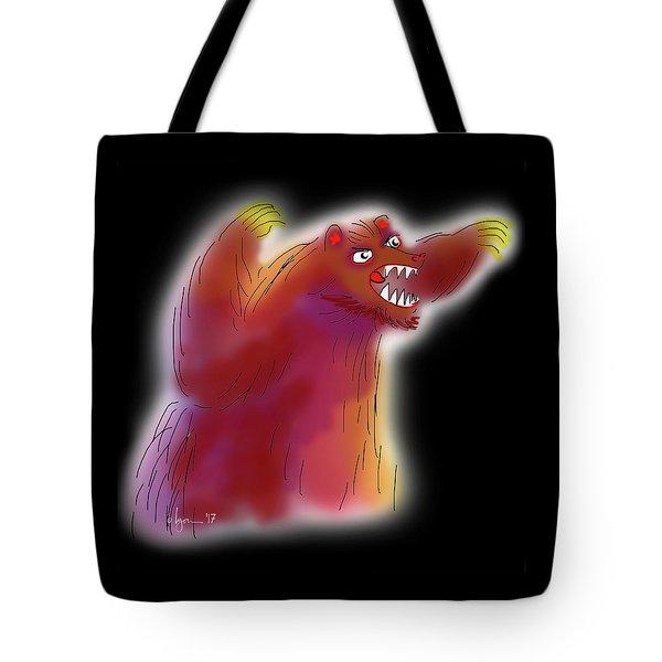 Big Scary Bear Tote Bag