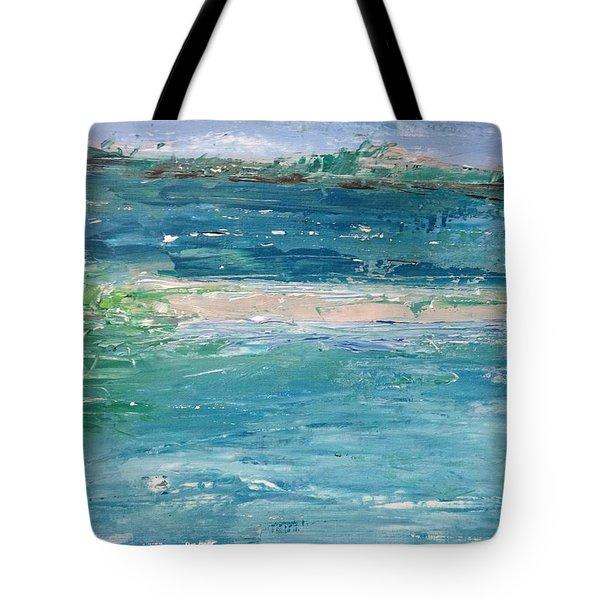 Big Shell Island Tote Bag