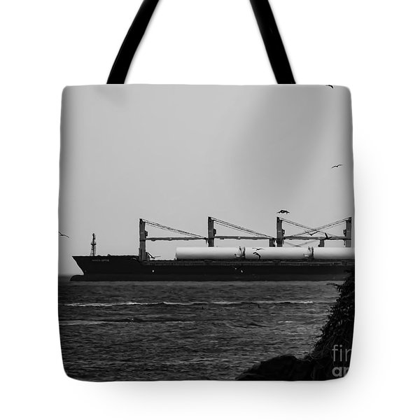 Big Ship Tote Bag