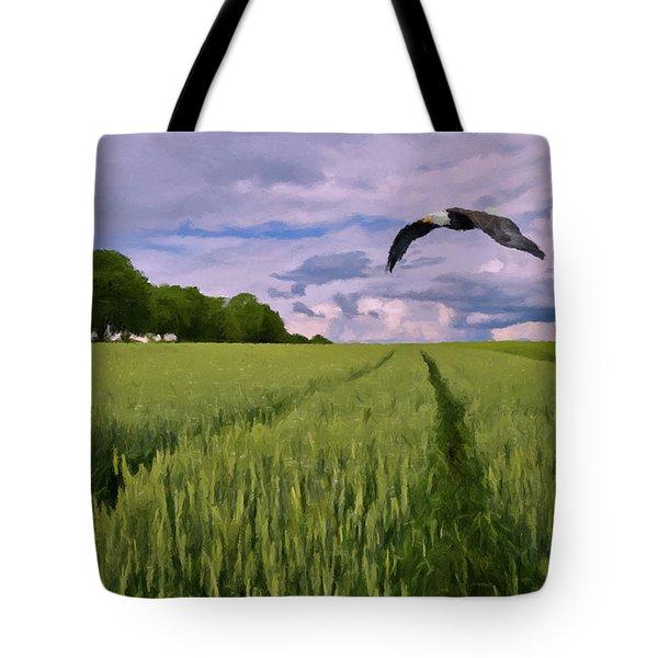 Big Sky Tote Bag by David Dehner