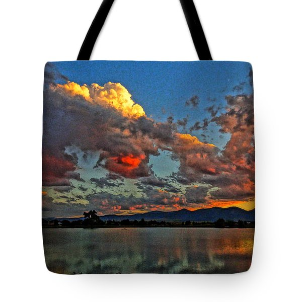 Tote Bag featuring the photograph Big Sky by Eric Dee