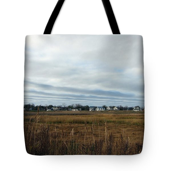 Big Sky In Belford Nj Tote Bag