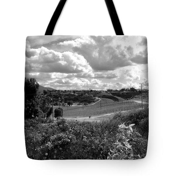 Big Sky In Socal Tote Bag