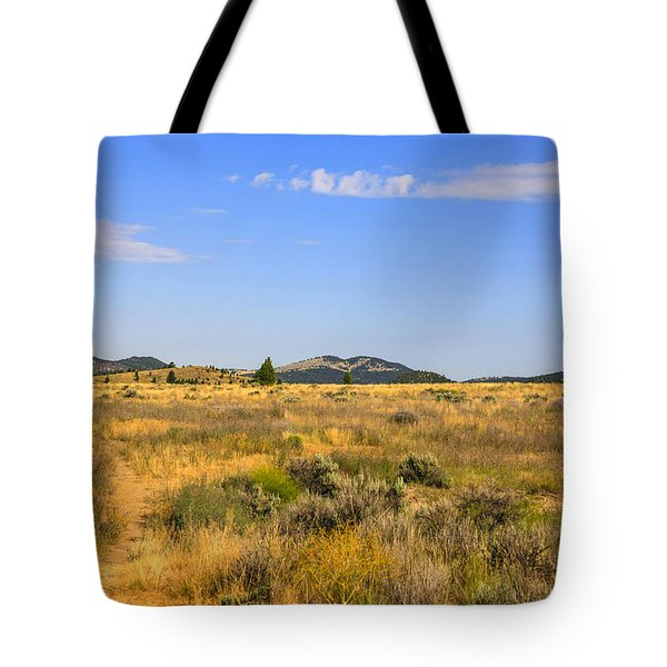 Big Sky Montana Tote Bag