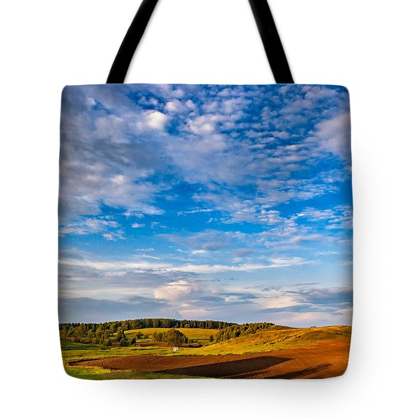 Big Sky Ontario Tote Bag by Steve Harrington