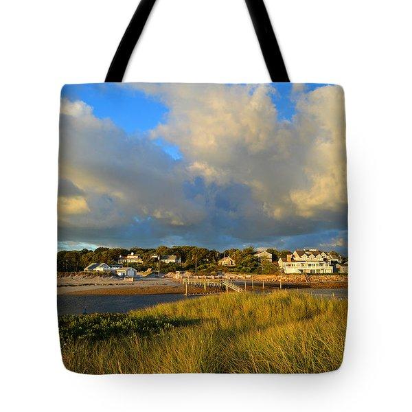 Big Sky Over Sesuit Harbor Tote Bag