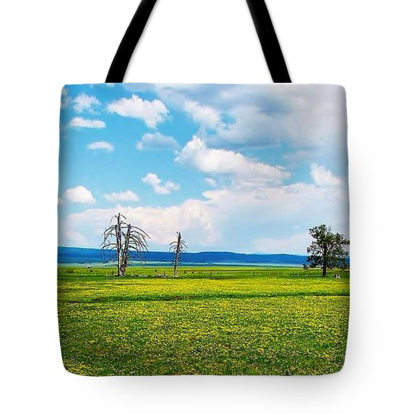 Big Summit Prairie In Bloom Tote Bag