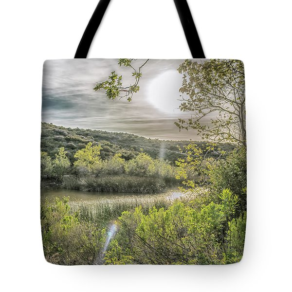 Big Sun Tote Bag