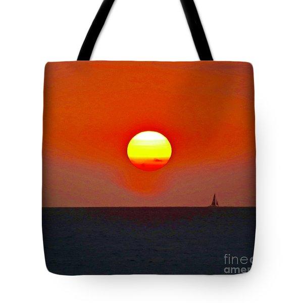 Big Sun Tote Bag