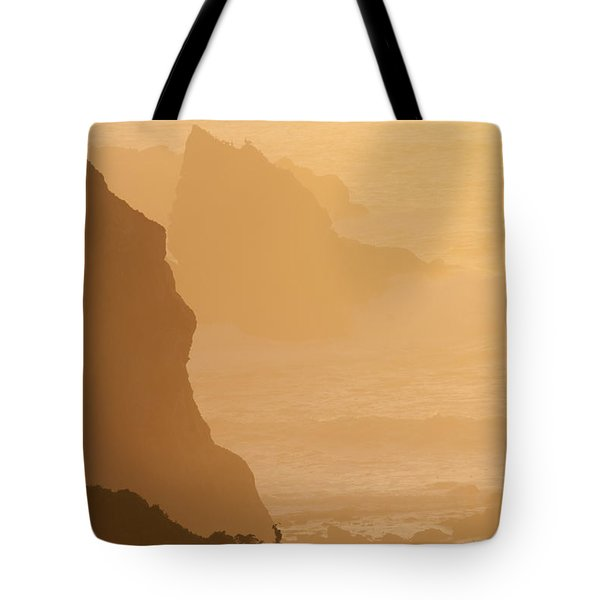 Big Sur Sunset Tote Bag