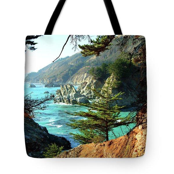 Big Sur Vista Tote Bag by Charlene Mitchell