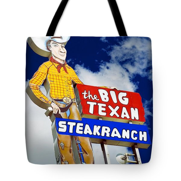 Big Texan Steak Ranch Tote Bag