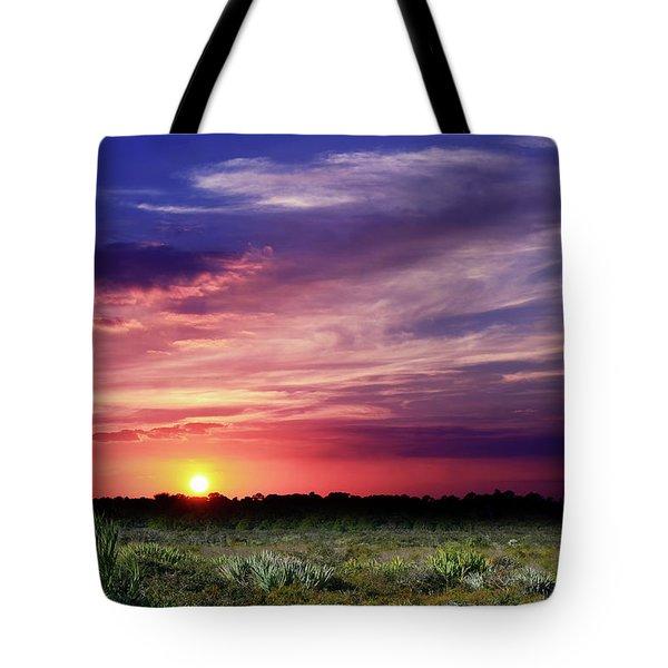 Big Texas Sky Tote Bag
