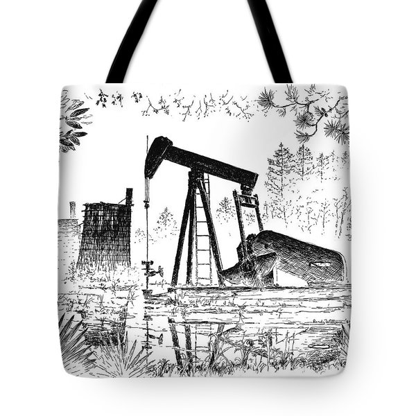 Big Thicket Oilfield Tote Bag