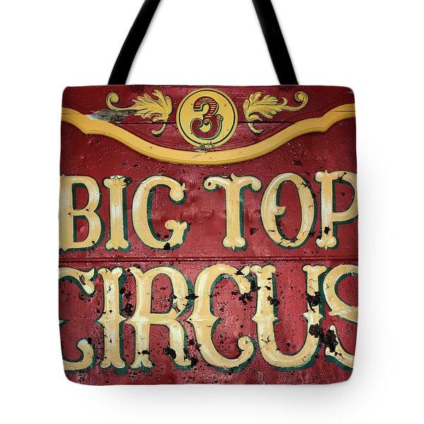 Big Top Circus Tote Bag