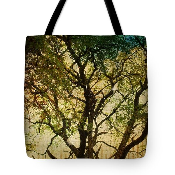 Big Tree In The Sunlight Tote Bag