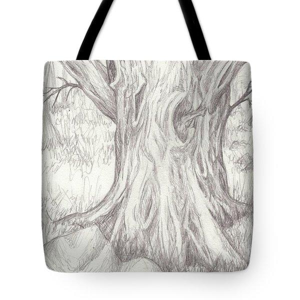 Big Tree Tote Bag by Ruth Renshaw