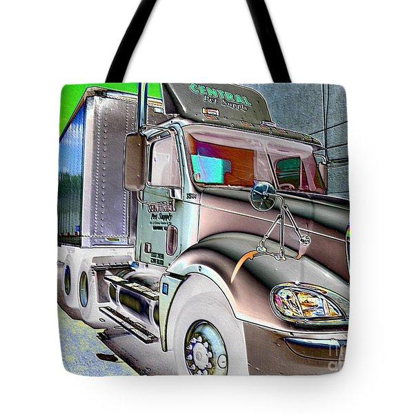 Big Truck Tote Bag