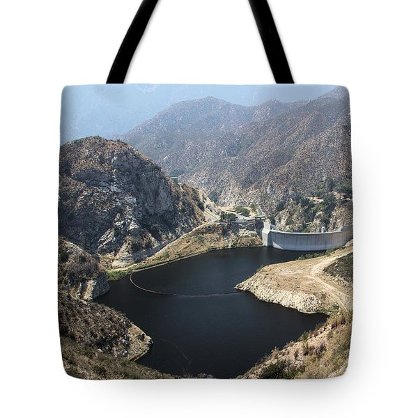 Big Tujunga Reservoir Tote Bag