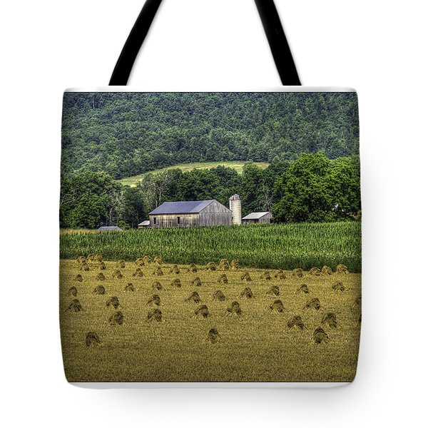Big Valley Farm Tote Bag by R Thomas Berner