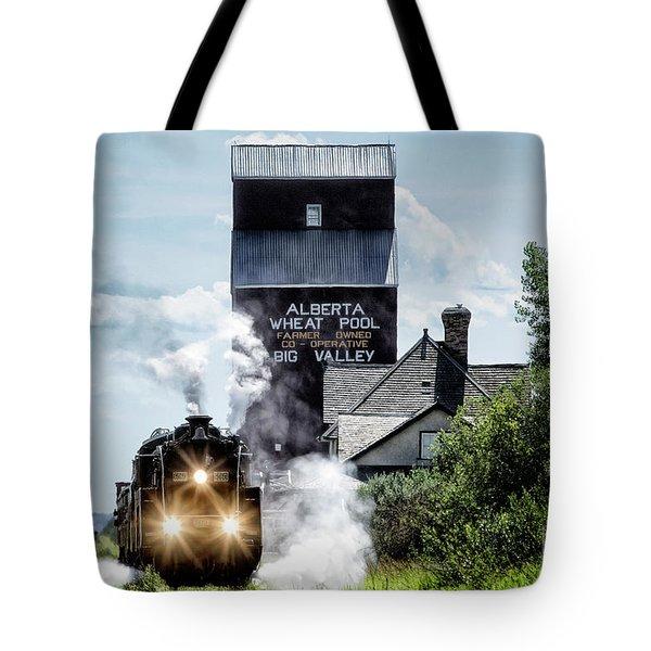 Big Valley Steam Tote Bag by Brad Allen Fine Art