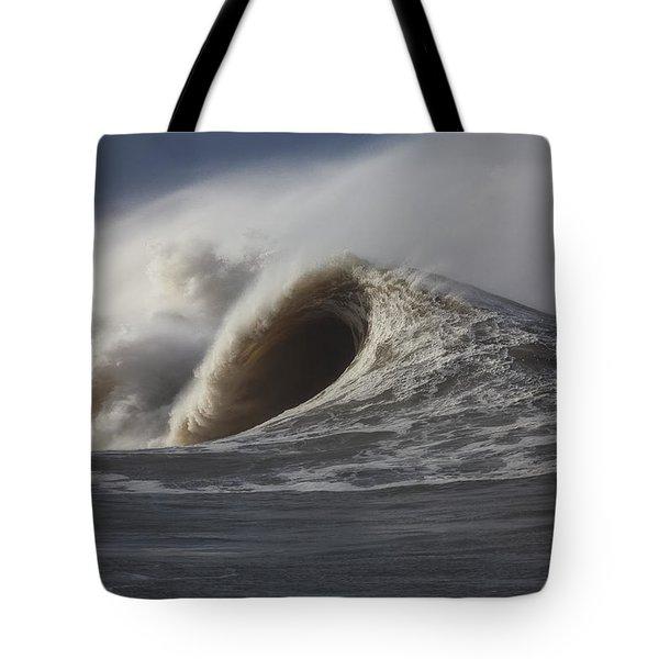 Big Waves #2 Tote Bag by Mark Alder