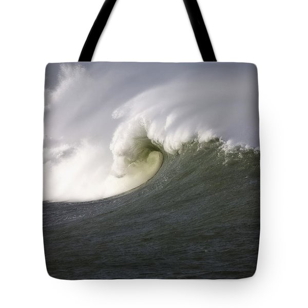 Big Waves #3 Tote Bag by Mark Alder