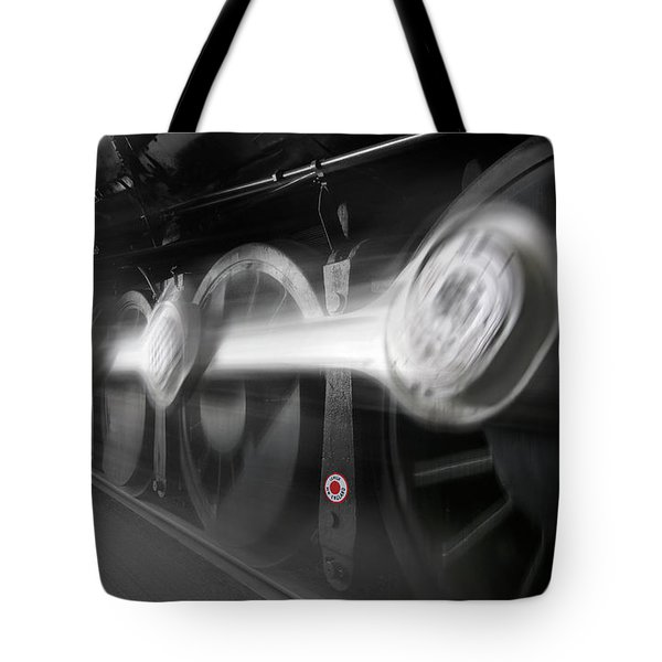 Big Wheels In Motion Tote Bag by Mike McGlothlen
