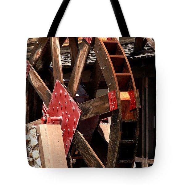 Big Wheels Keep On Turning Tote Bag by LeeAnn McLaneGoetz McLaneGoetzStudioLLCcom