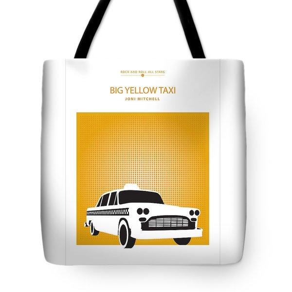 Big Yellow Taxi -- Joni Michel Tote Bag