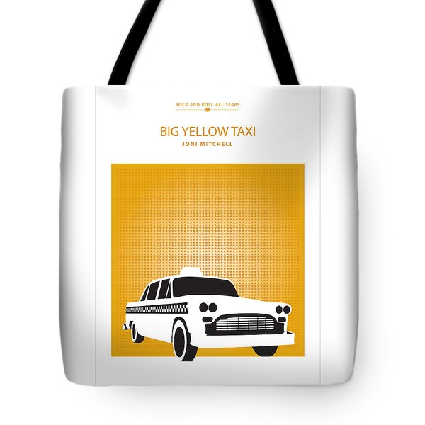 Big Yellow Taxi -- Joni Michel Tote Bag