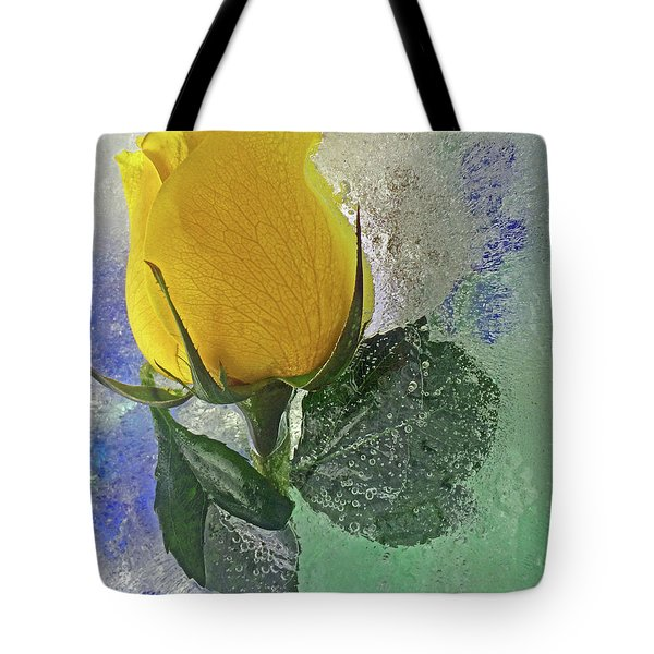 Big Yellow Tote Bag by Terry Foster