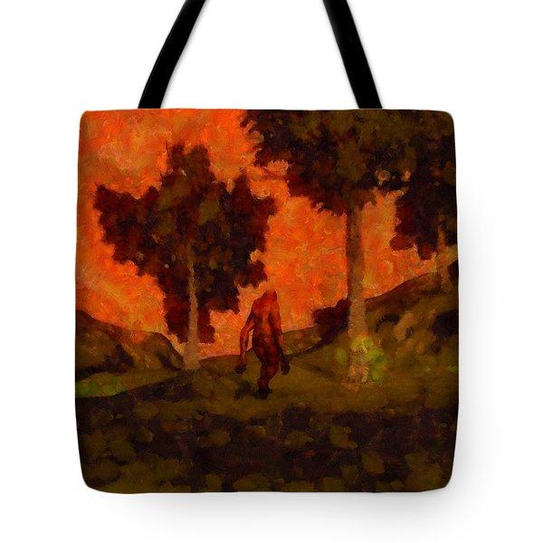 Bigfoot Wandering Tote Bag