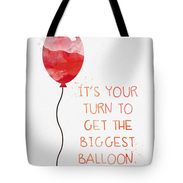 Biggest Balloon- Card Tote Bag